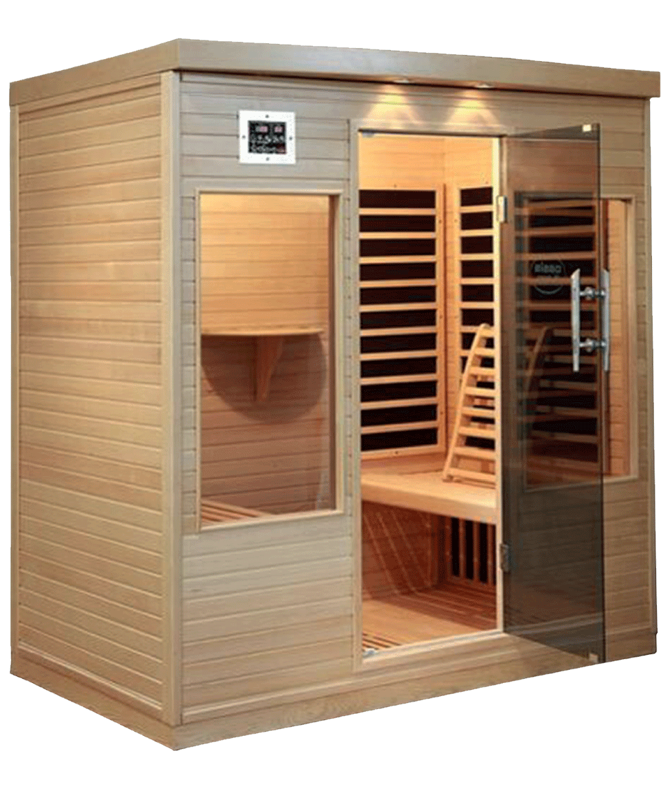 Exterior of a home sauna in Dublin