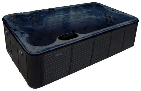 Black Swim Spa