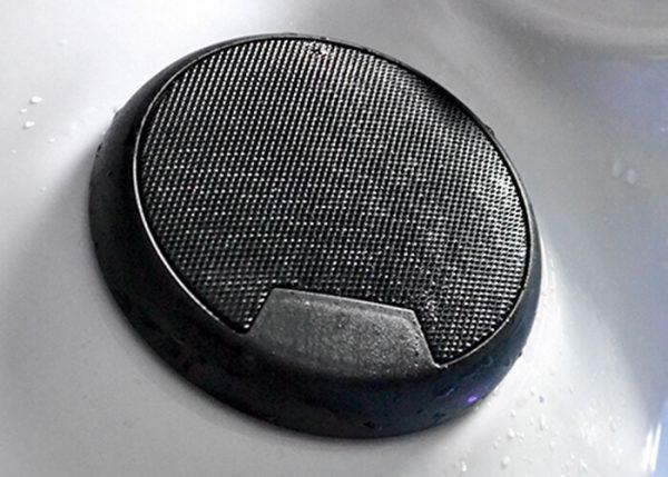 Bluetooth Speaker in a home swim spa