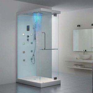 Steam Shower in a bathroom in Ireland