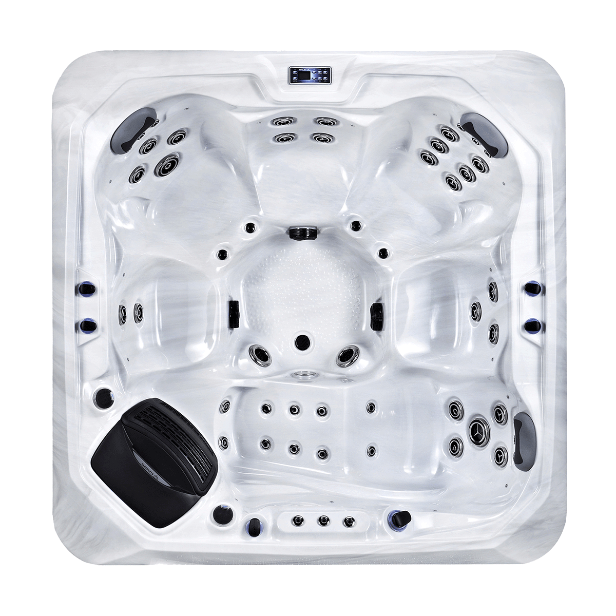 Carra Six Person Home Hot Tub