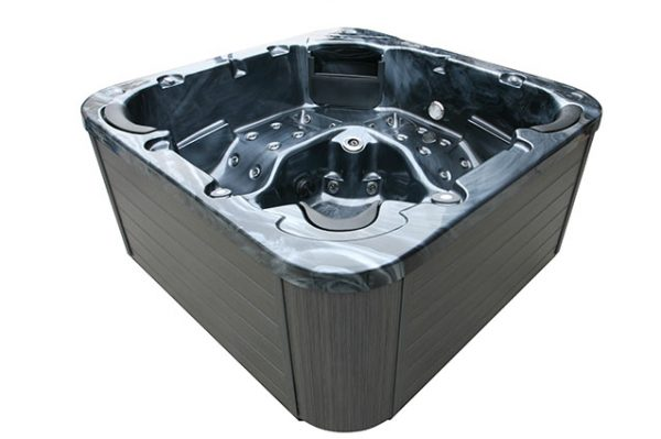 Allua Hot Tub Side View