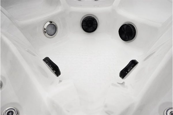 Close up of hot tub jets